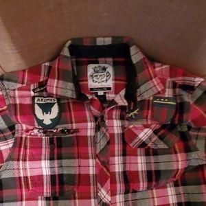 Button down, 100% cotton shirt.